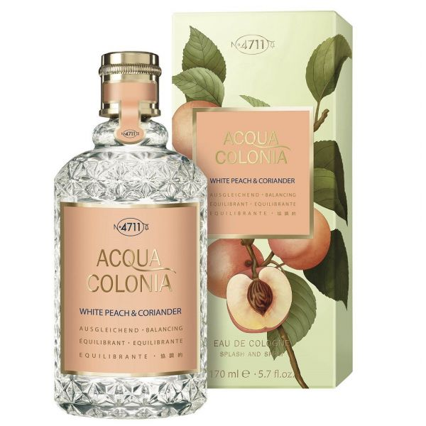 4711 acqua colonia white peach & coriander woda kolońska spray 170ml
