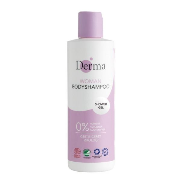Derma eco woman body shampoo żel do mycia ciała 250ml