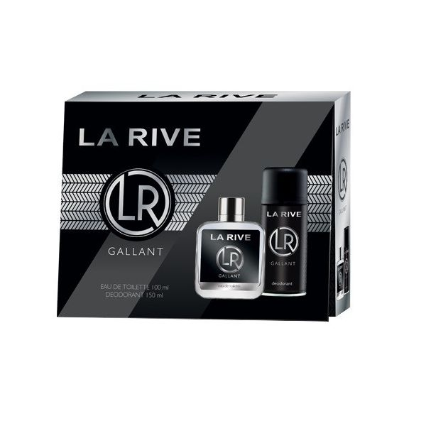 La rive gallant zestaw woda toaletowa spray 100ml + dezodorant spray 150ml