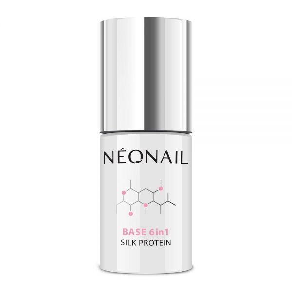 Neonail base 6in1 silk protein baza proteinowa 7.2ml