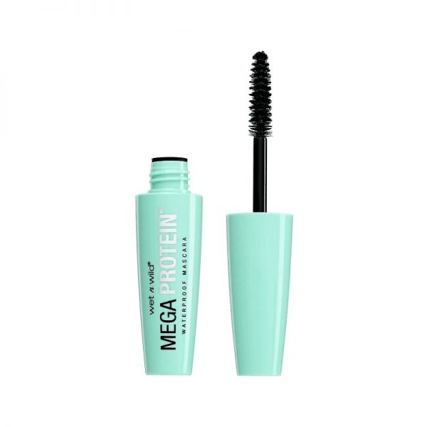 Wet n wild mega protein waterproof mascara wodoodporny tusz do rzęs very black 6ml
